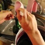 Holundersirup - Anleitung - sirup abfüllen